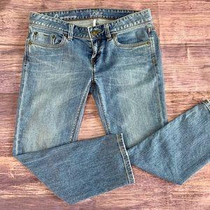 Loft Crop Jean size 25